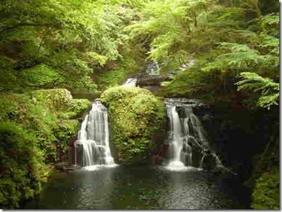 الانهار والجبال في اليابان