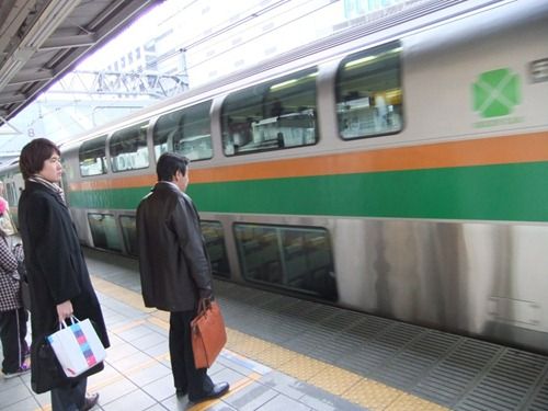 القطارات في اليابان