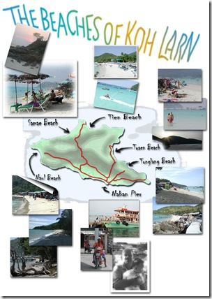 Koh-Larn-map-beaches