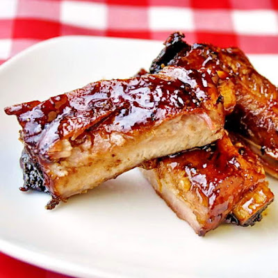 Black Bean and Ginger Glazed Ribs