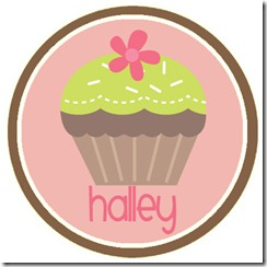 Valentine&#39;s Day Cupcake_Green_Halley