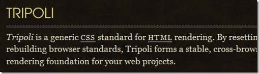 Tripoli completly resets all default browser standards and rebuilds them quietly with modern web development in mind | css-framework-9