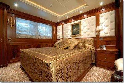 Os interiores de luxuosos iates  29