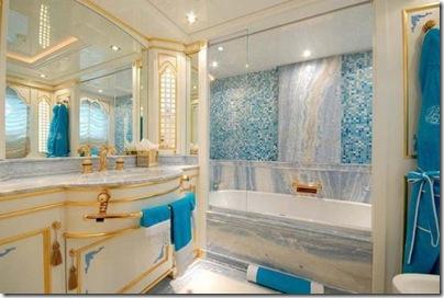 Os  interiores de luxuosos iates 26