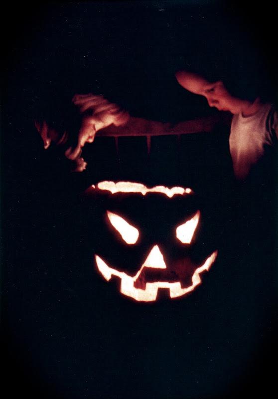 Lisa and David at Halloween