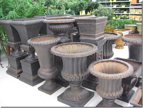 Outdoor urns