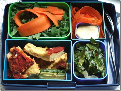 GLG pizza in lunchbox