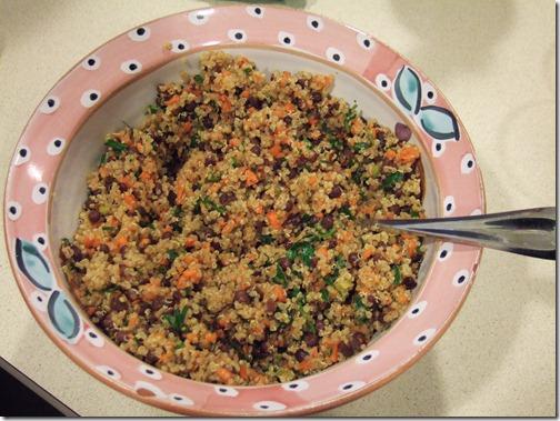 Speedy Quinoa Azuki Salad