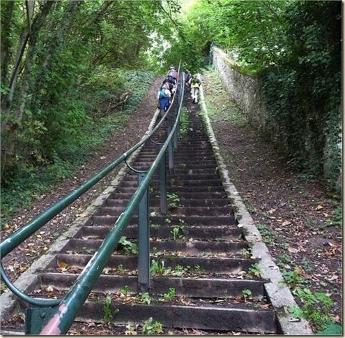 escalier de Samois 06-10-2010 17-21-36