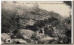 Lecteur à la roche Feuilletée