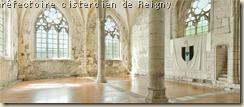 réfectoire cistercien Reigny (2)