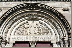 tympan du portail central