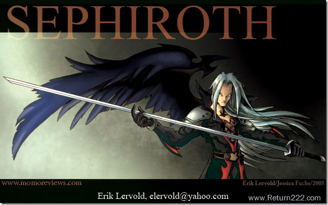 Sephiroth_by_lervold