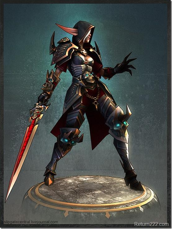 Blood_Elf_Death_Knight_by_slipgatecentral