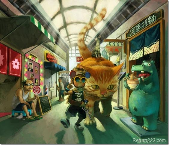 siu_kong_in_shopping_street_by_cuson
