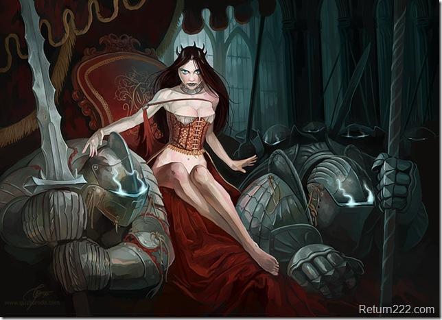Dark_Queen_by_GuzBoroda