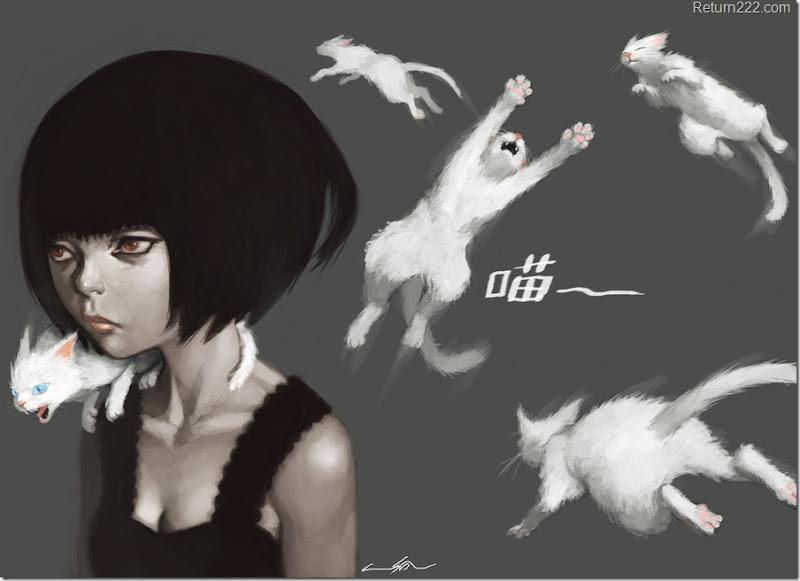white_cats_girl_by_cuson-d2xlseb