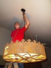 New Chandelier-final hanging