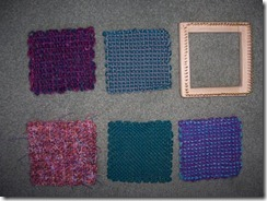 Little Loom samples - first 5