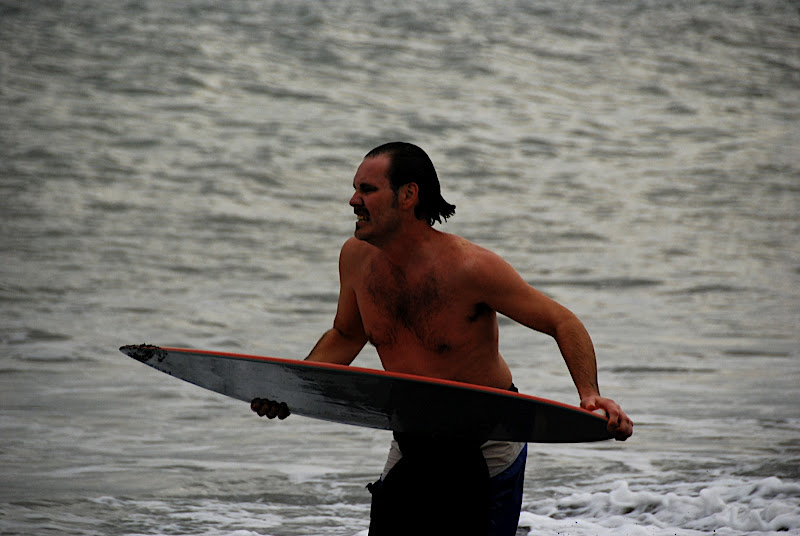 I had NO IDEA I made this kind of face while skimboarding!!