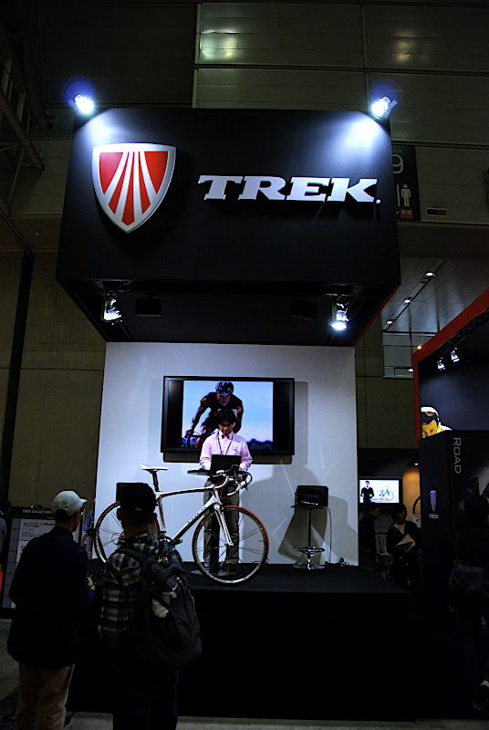 Of course I spent a lot of time in the Trek booth, as a loyal Trek rider of 15 years.
