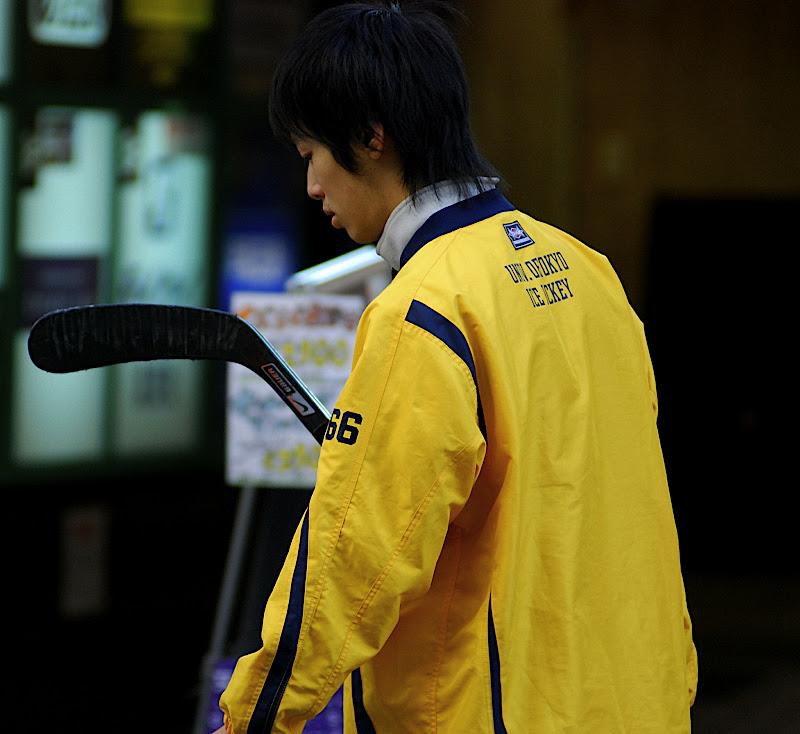 Seems it should be illegal to be able to carry a hockey stick in the open in public.