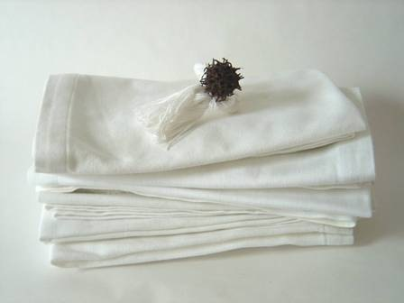 Napkins simplemente blanco Beach House Living