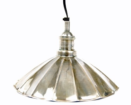 7205 large metal fan lamp peddlers