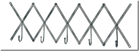 82828 Barreveld zinc finished zig zag hooks