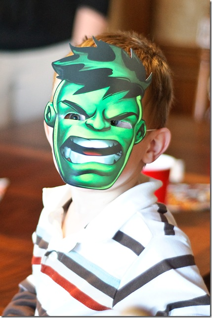 Owen as the hulk for web