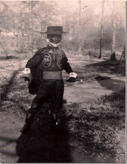 Mike as Zorro