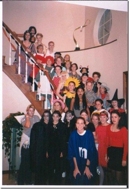 Theta halloween party
