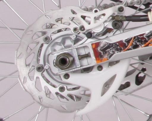 250cc Crossfire XZ250R Dirt Bike Rear Hydraulic Wave Disc Brakes