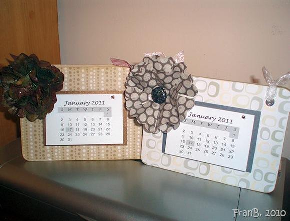2011 coaster calendars