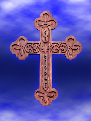Traditional Russian Orthodox Cross