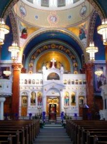 Serbian Orthodox Church Altar