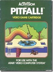 Capa de Pitfall para Atari 2600