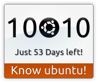 Banner Counter - Ubuntu 10.10 Maverick Meerkat