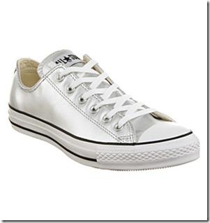 silver- converse