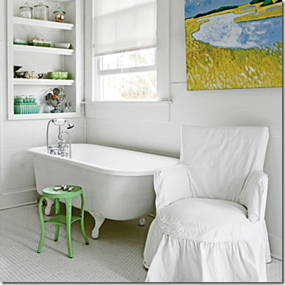 white and bright bathroom via blueprint bliss