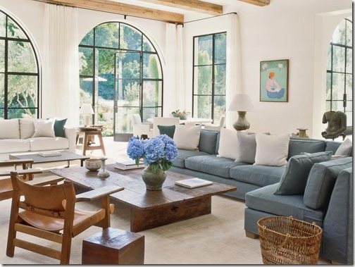 Great A custom sectional in a room designed by Atelier AM graced the pages of Veranda in March This room certainly did not have space constraints