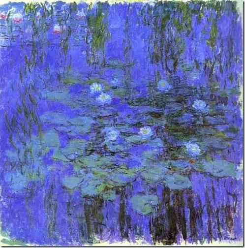 Monet-Blue-Water-Lilies