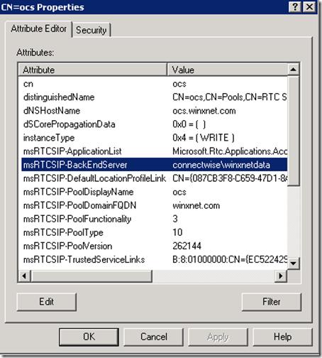 adsieditbackenddatabase