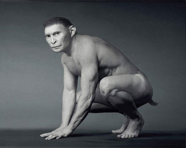 Evolucion del Hombre en 12 Imagenes