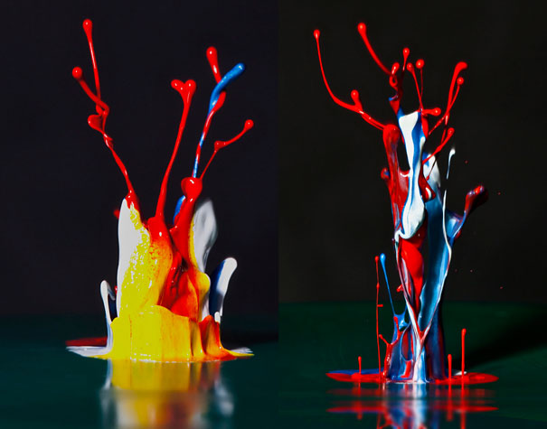 17 Colorful High-Speed Water Figures
