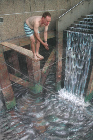 44 amazing julian beever�s 3d pavement drawings bored panda