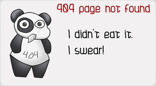 50 Cool and Creative 404 Error Pages (Part I)
