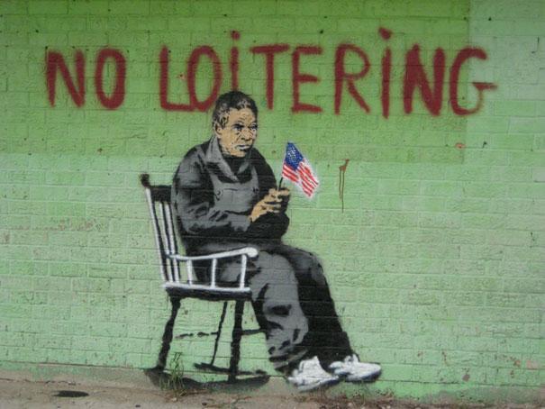 http://lh5.ggpht.com/_9F9_RUESS2E/SsUglGizfRI/AAAAAAAABQ4/ScwYfXyIedE/s800/banksy-graffiti-street-art-no-loitering.jpg