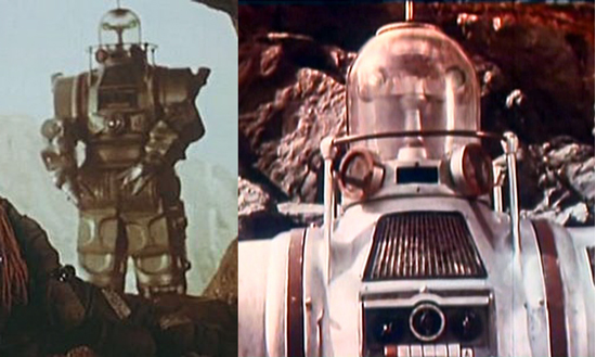 what was your favorite robot classic horror film board