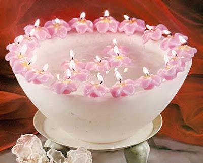 Como hacer velas flotantes primaveras una idea genial - Como hacer velas flotantes ...